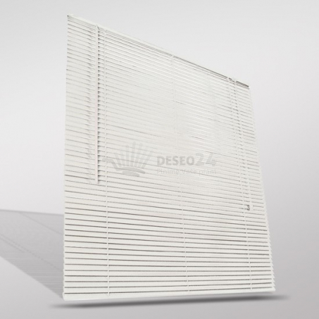 Drevené žalúzie biele, 90 x 220 cm