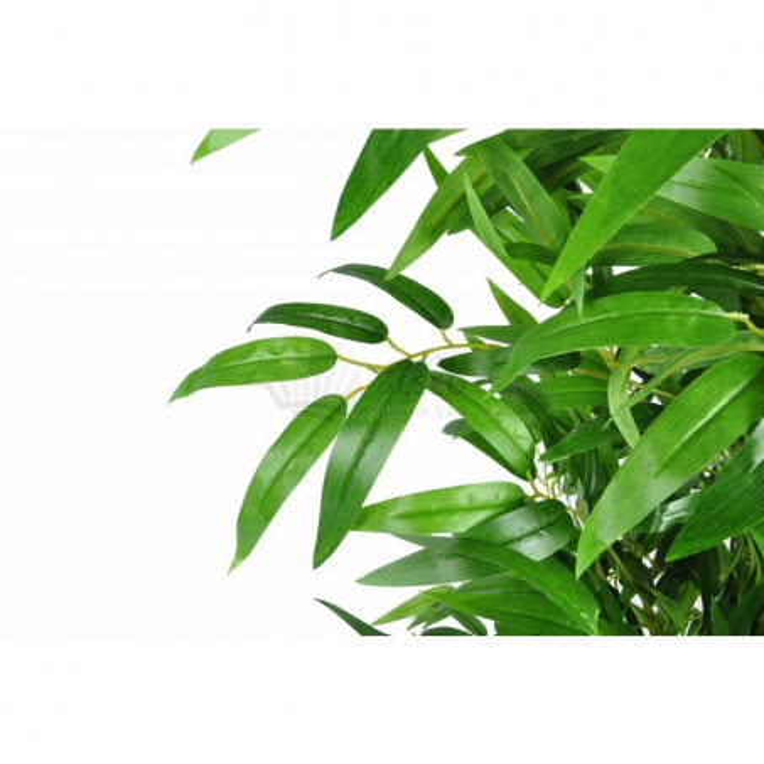 Sada štyroch kusov umelých bambusových stromov 190cm