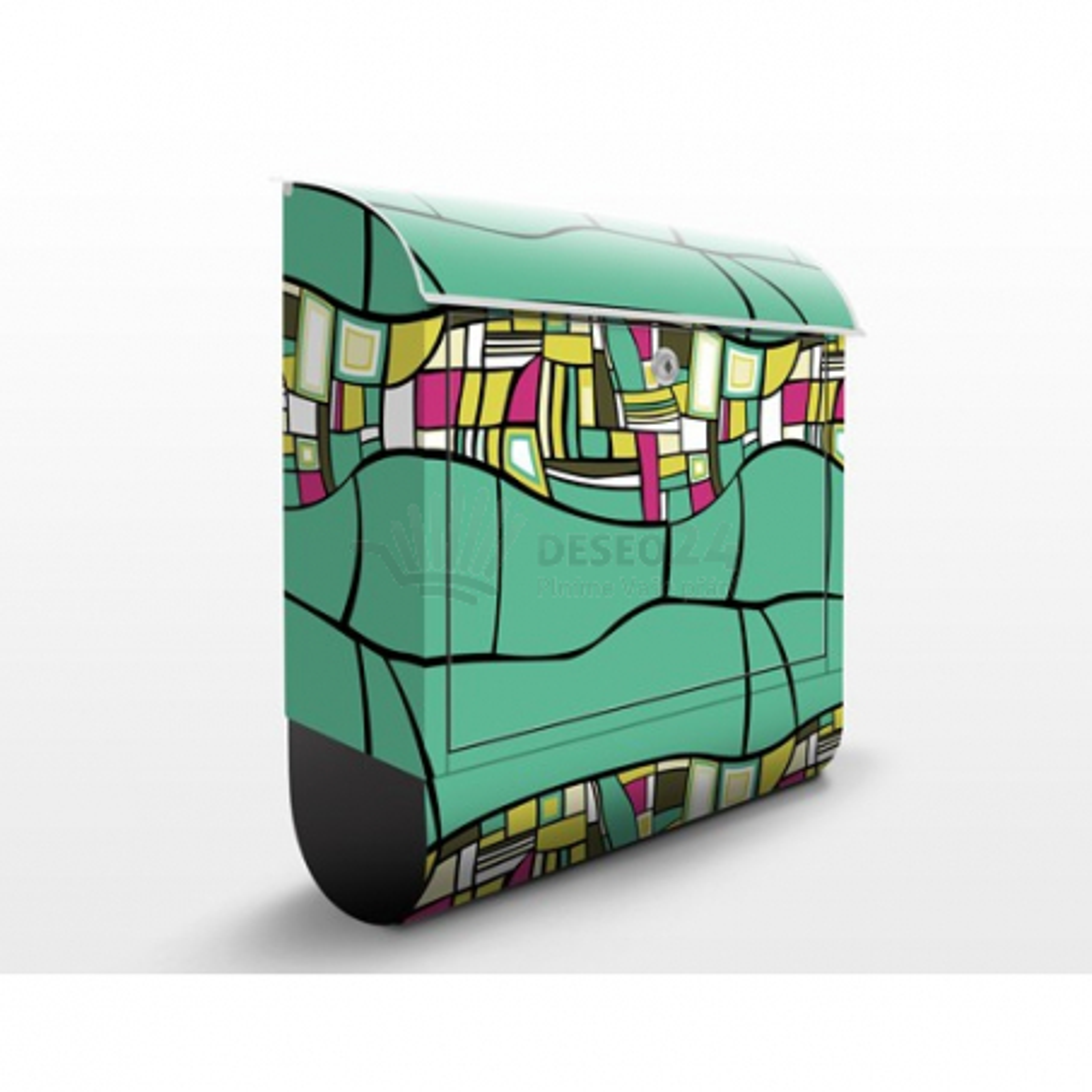 Poštová schránka s potlačou Ornamenty - abstrakt č. 007