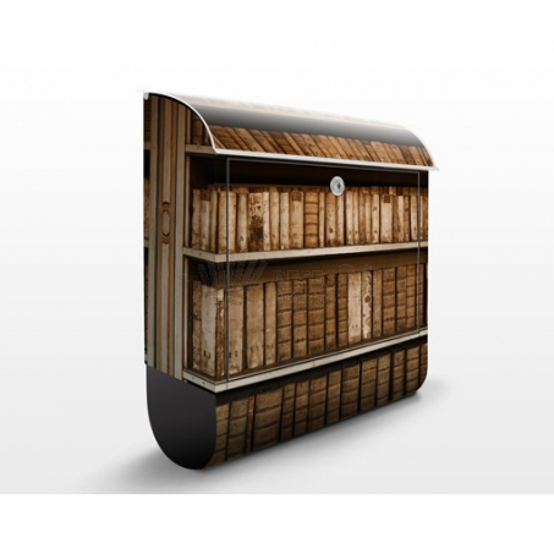 Poštová schránka s potlačou Starý archív