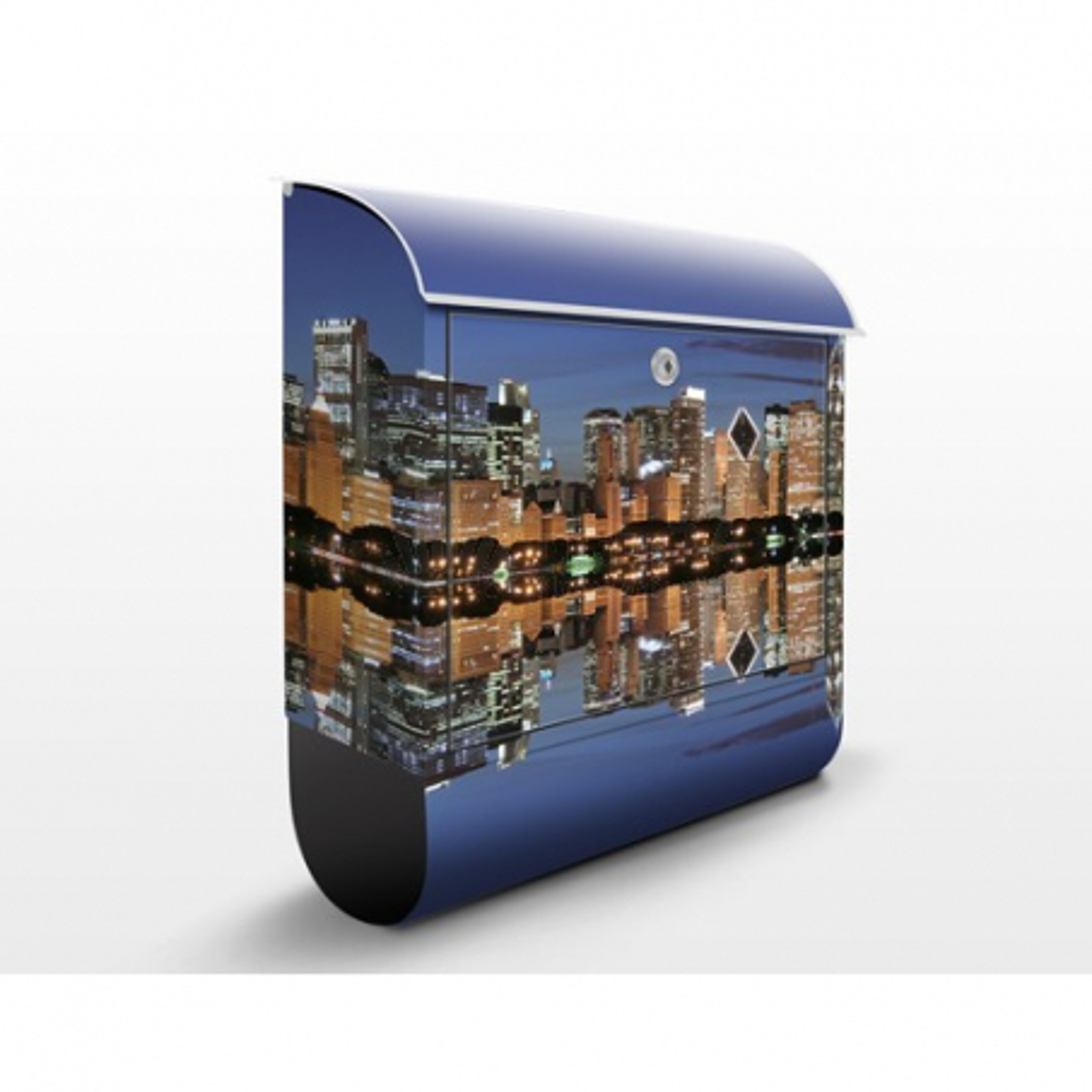 Poštová schránka s potlačou Chicago Reflection