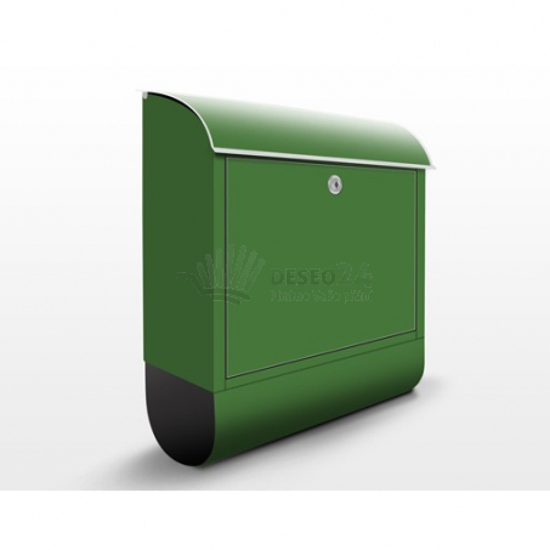 Poštová schránka s potlačou Tmavo zelená