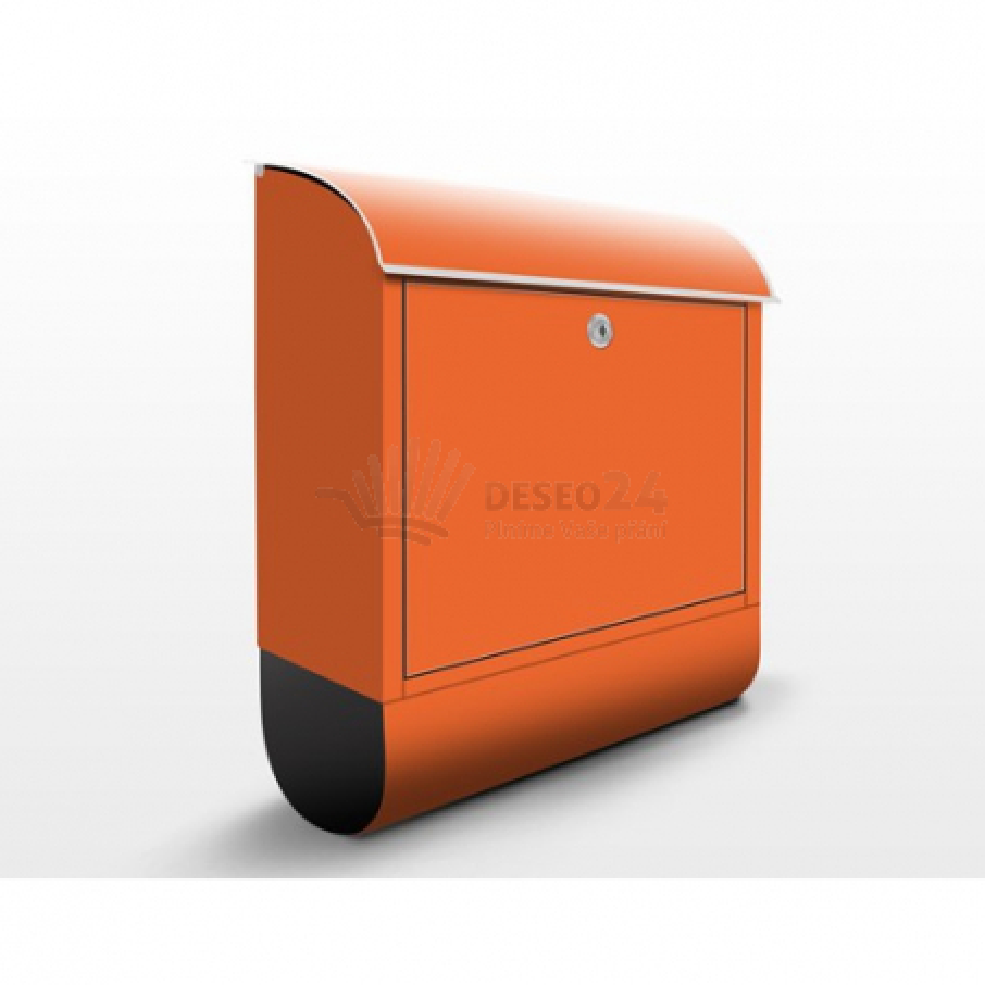 Poštová schránka s potlačou Oranžová