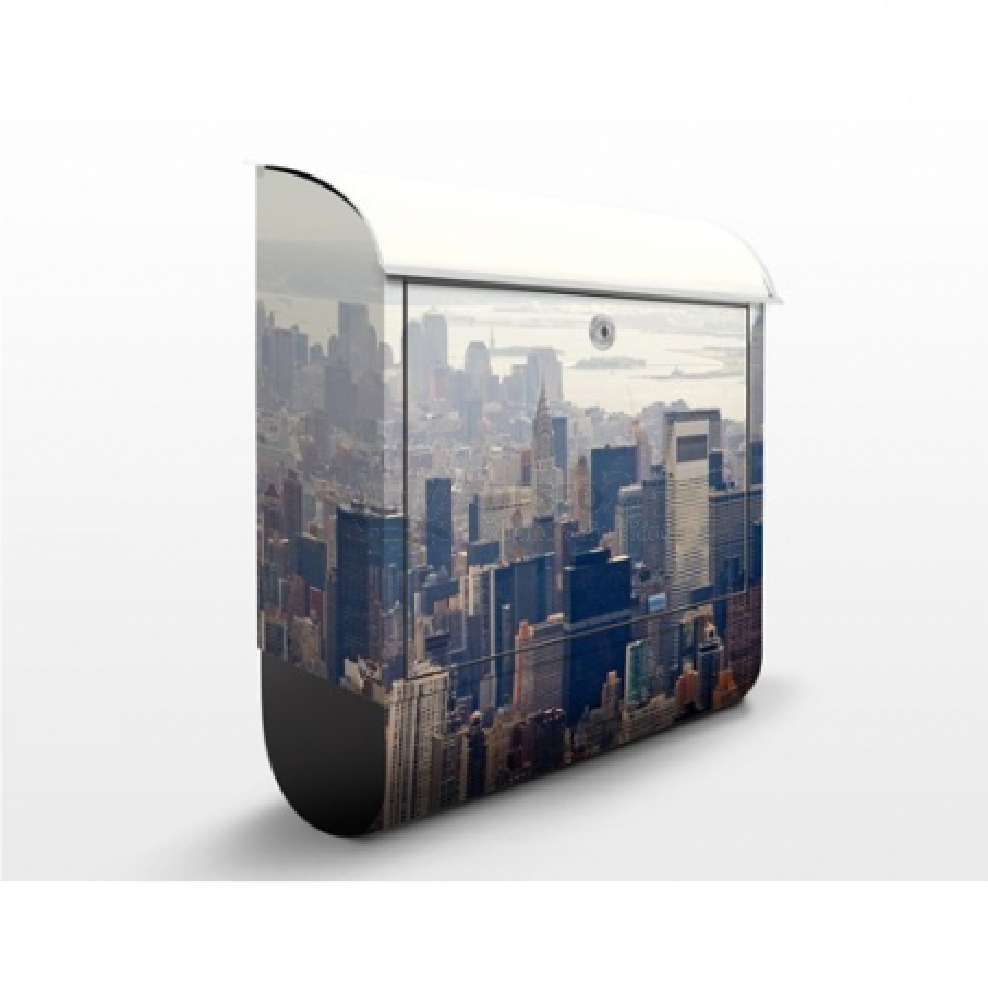 Poštová schránka s potlačou Ráno v New Yorku