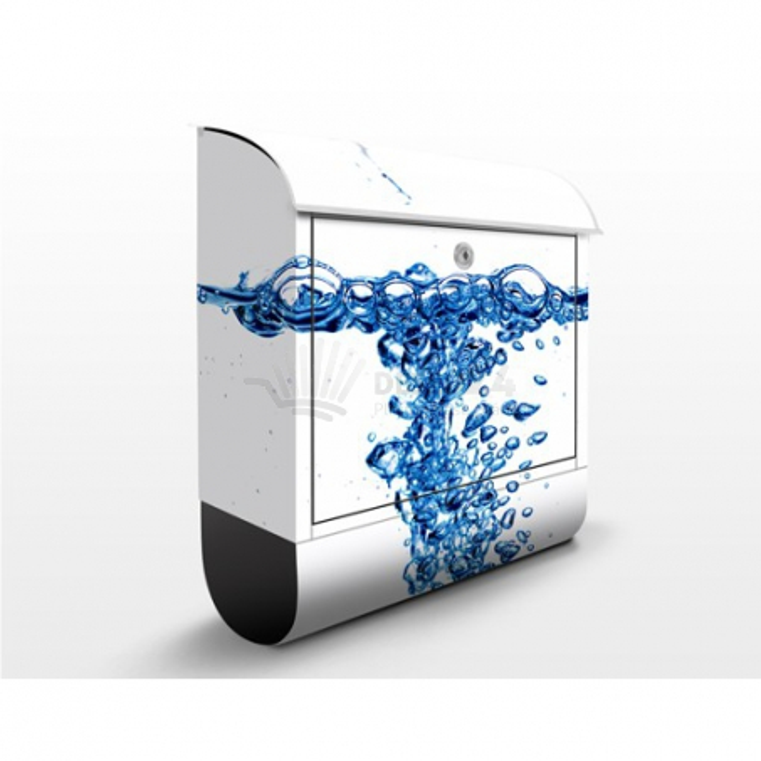 Poštová schránka s potlačou Čerstvá voda