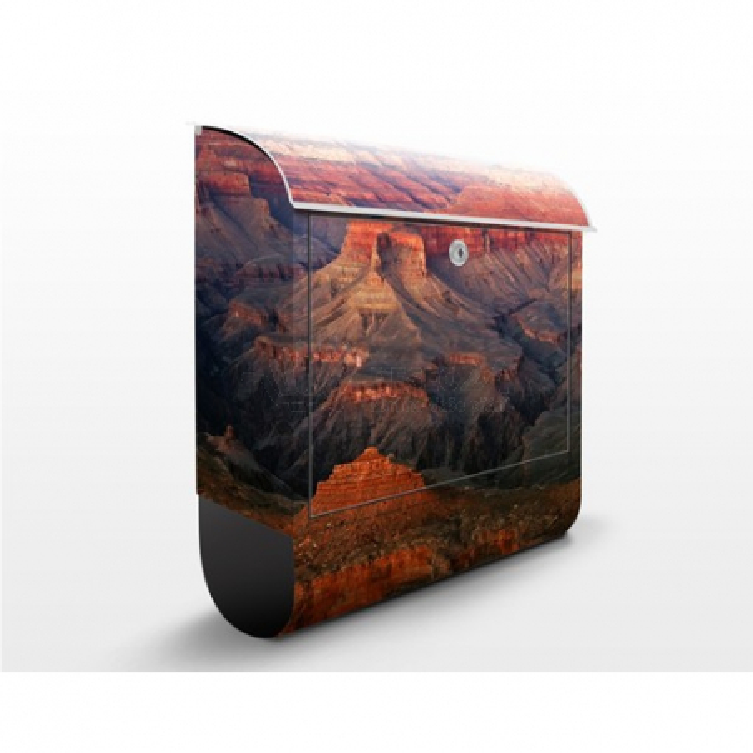 Poštová schránka s potlačou Grand Canyon po západe slnka