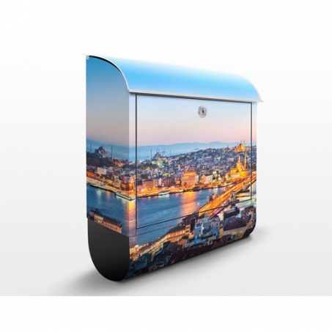 Poštová schránka s potlačou Istanbul