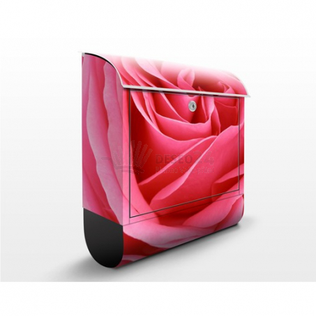 Poštová schránka s potlačou Pink Rose