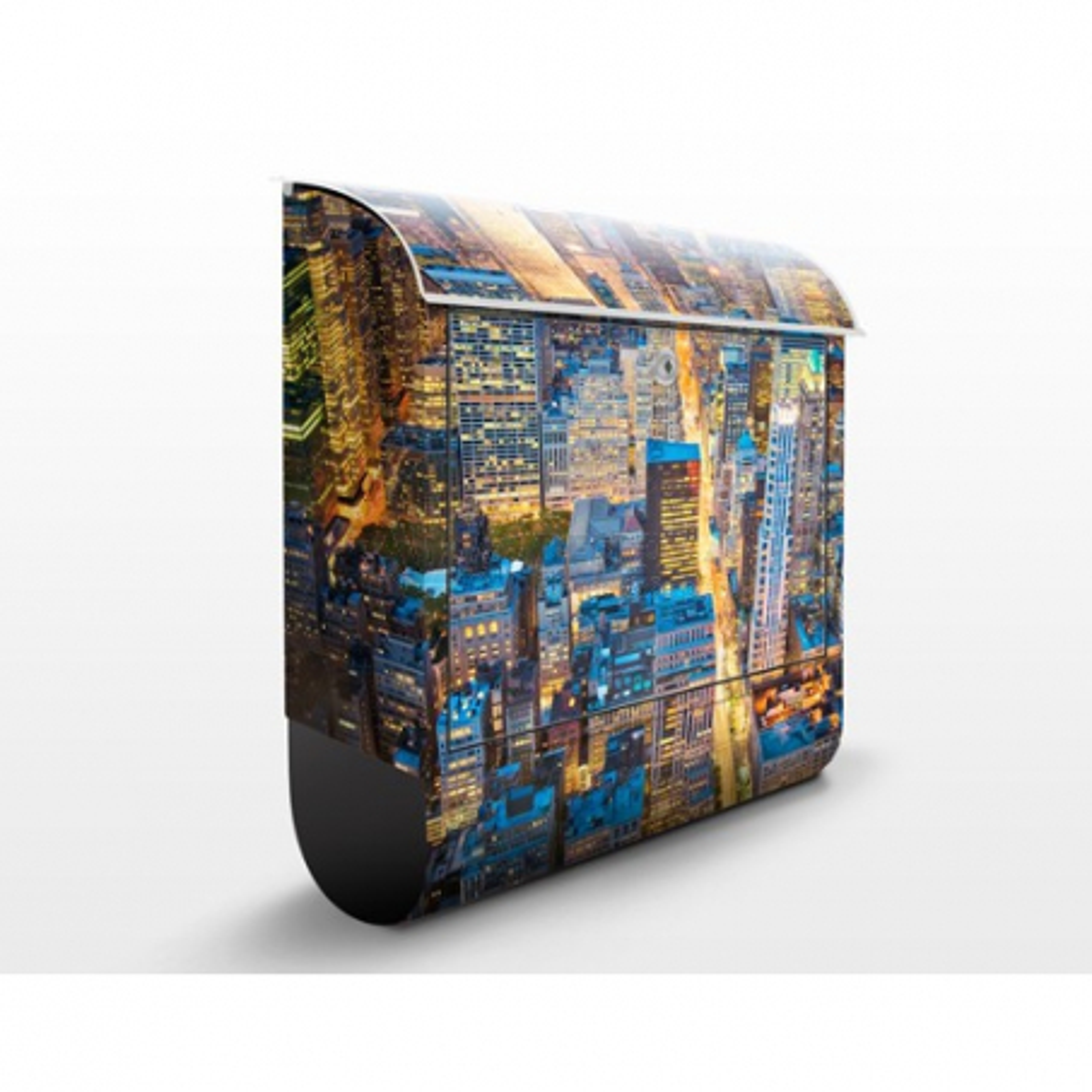 Poštová schránka s potlačou Midtown Manhattan