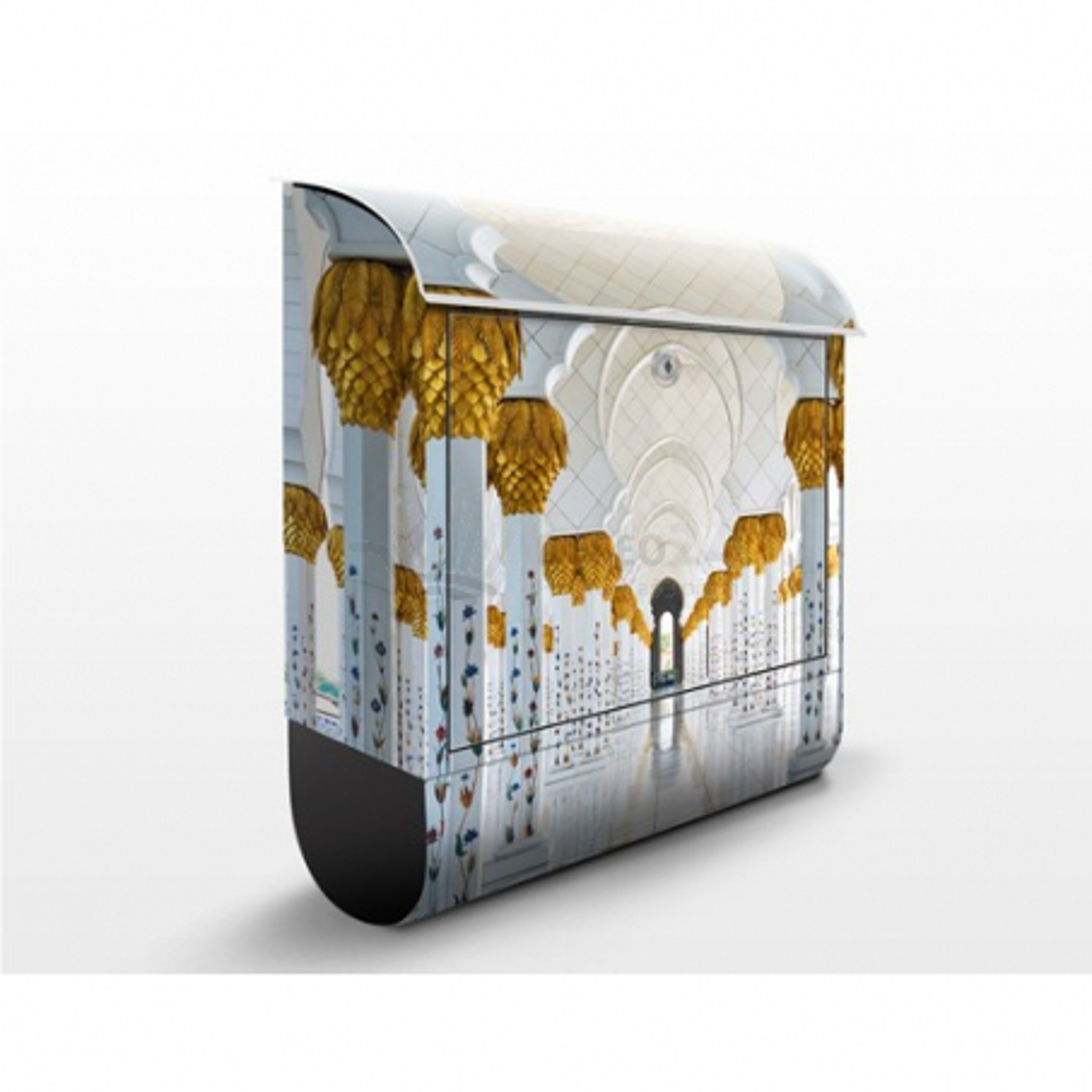 Poštová schránka s potlačou Moschee in Abu Dhabi