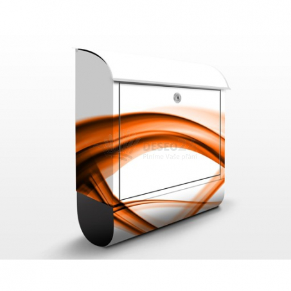 Poštová schránka s potlačou Orange Element