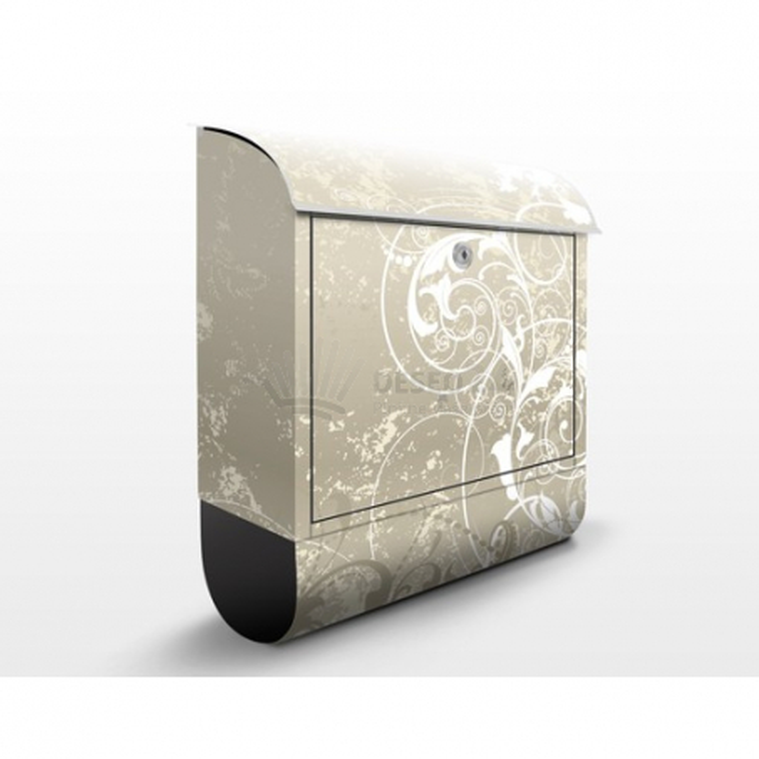 Poštová schránka s potlačou Perlmutt Ornament Design
