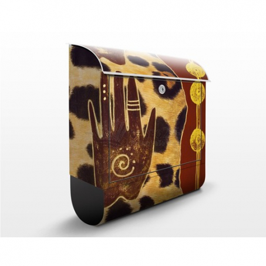 Poštová schránka s potlačou Dotyk Afriky