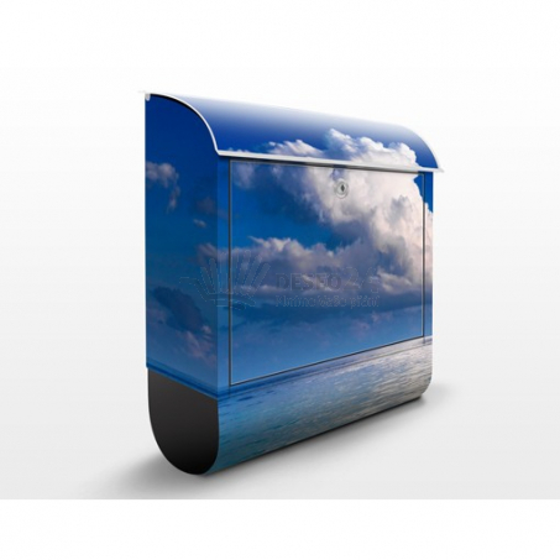 Poštová schránka s potlačou Turecka lagúna