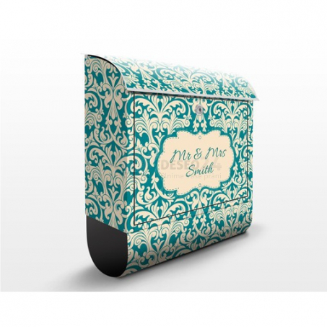 Poštová schránka s potlačou The 12 Muses - Aoide a vlastným textom
