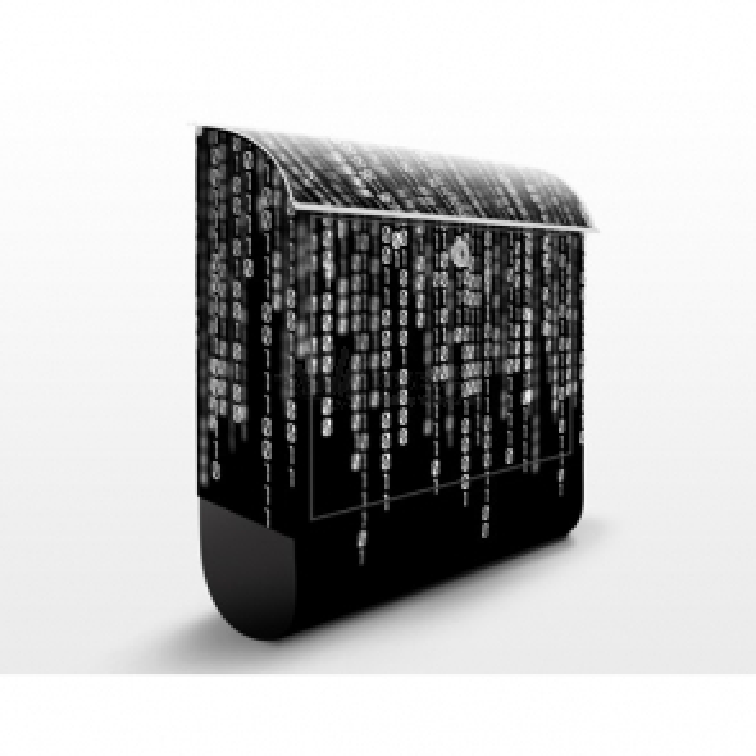Poštová schránka s potlačou Binary Code II