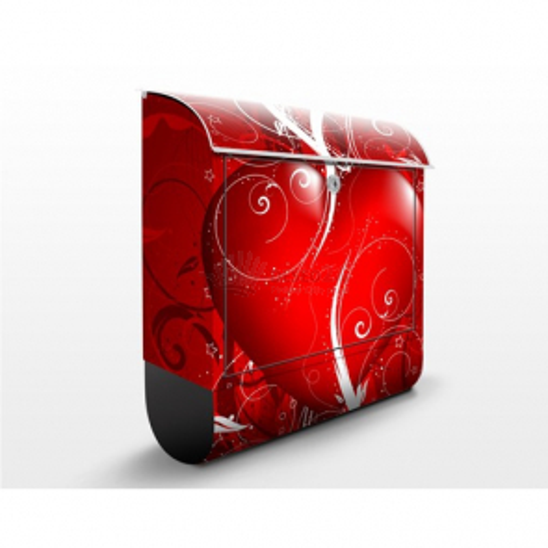 Poštová schránka s potlačou Floral Heart