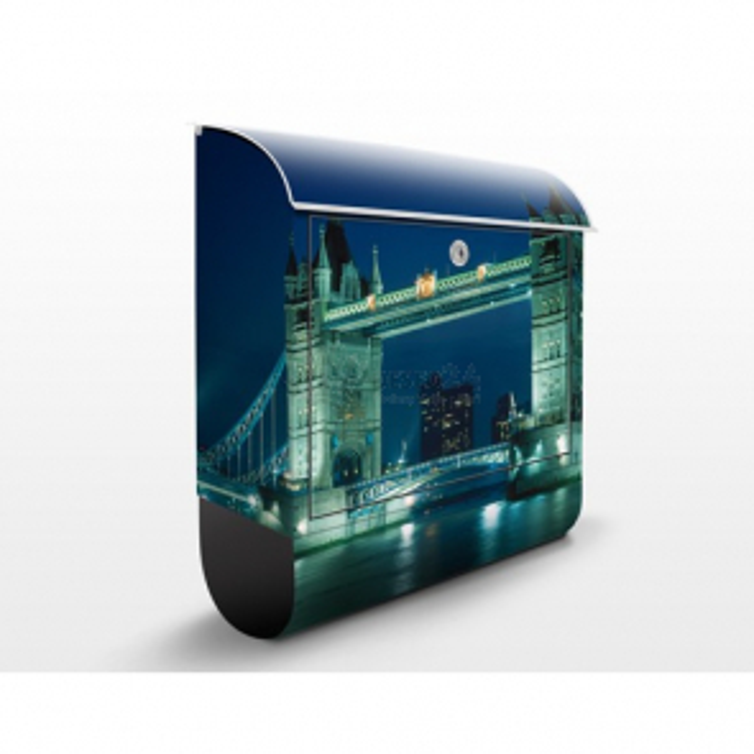 Poštová schránka s potlačou Tower Bridge