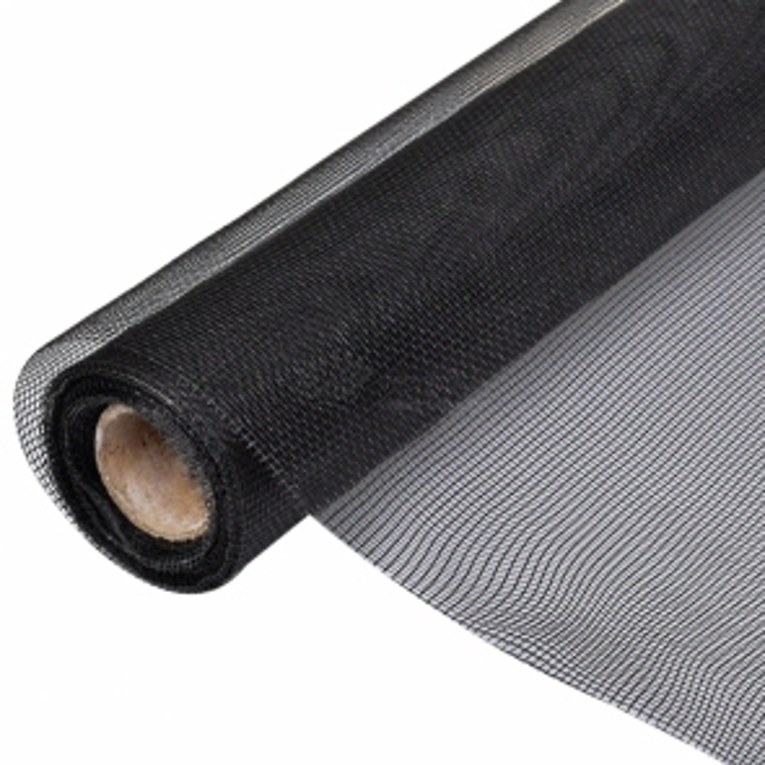 Čierne pletivo proti hmyzu do dverí/okien 150 x 500 cm