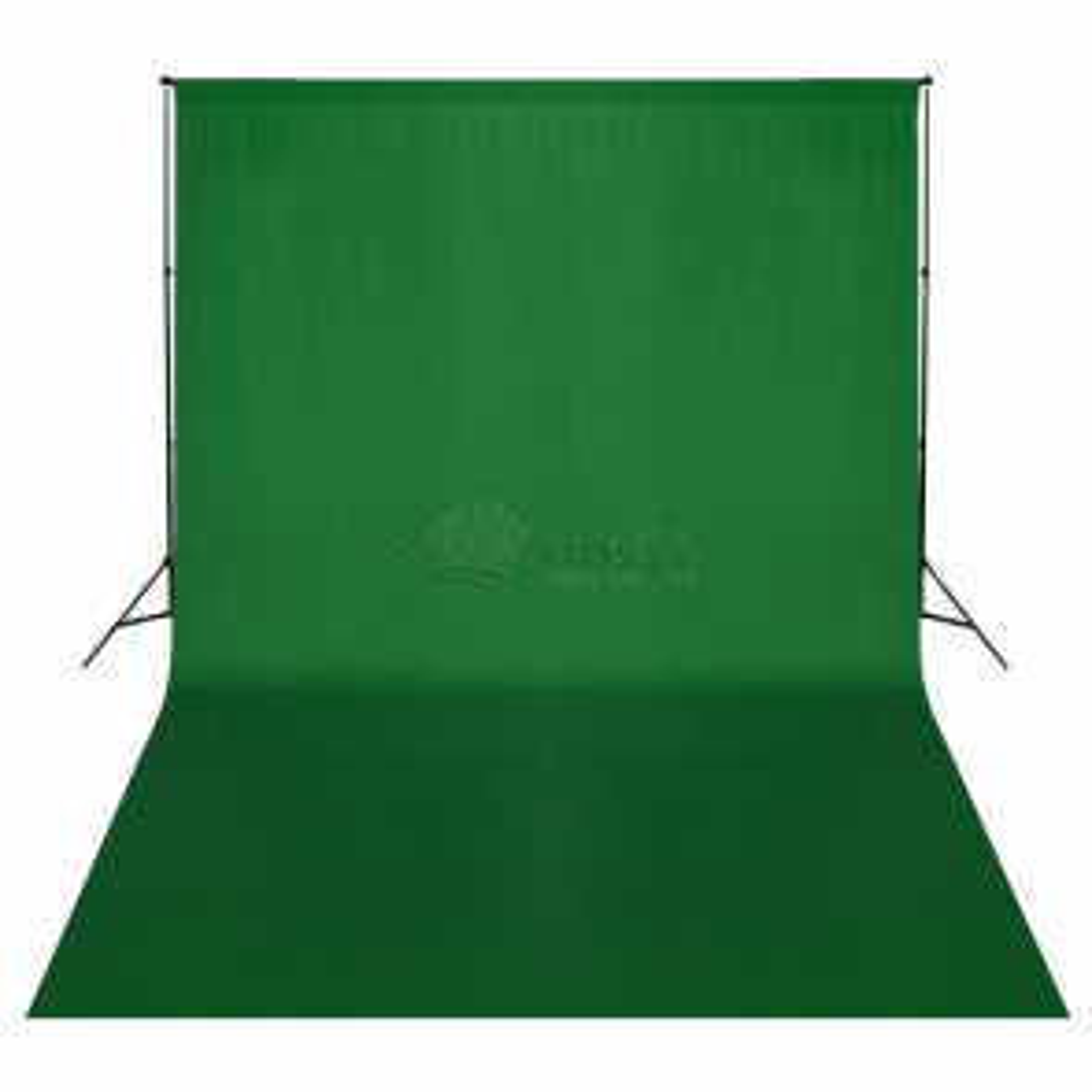 Systém na fotopozadie 300 cm so zeleným pozadím