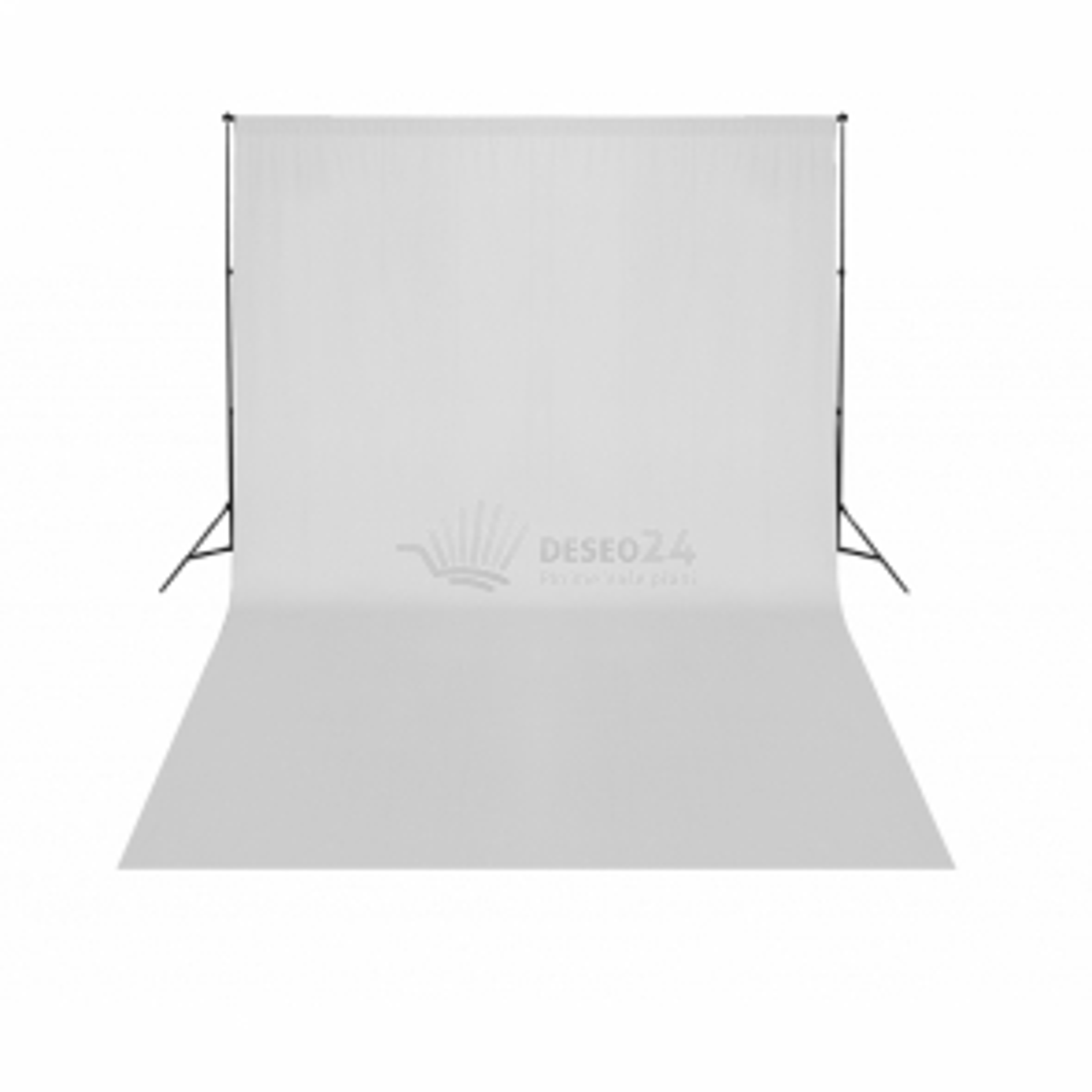 Teleskopický systém na uchytenie + biele fotopozadie 3 x 5 m