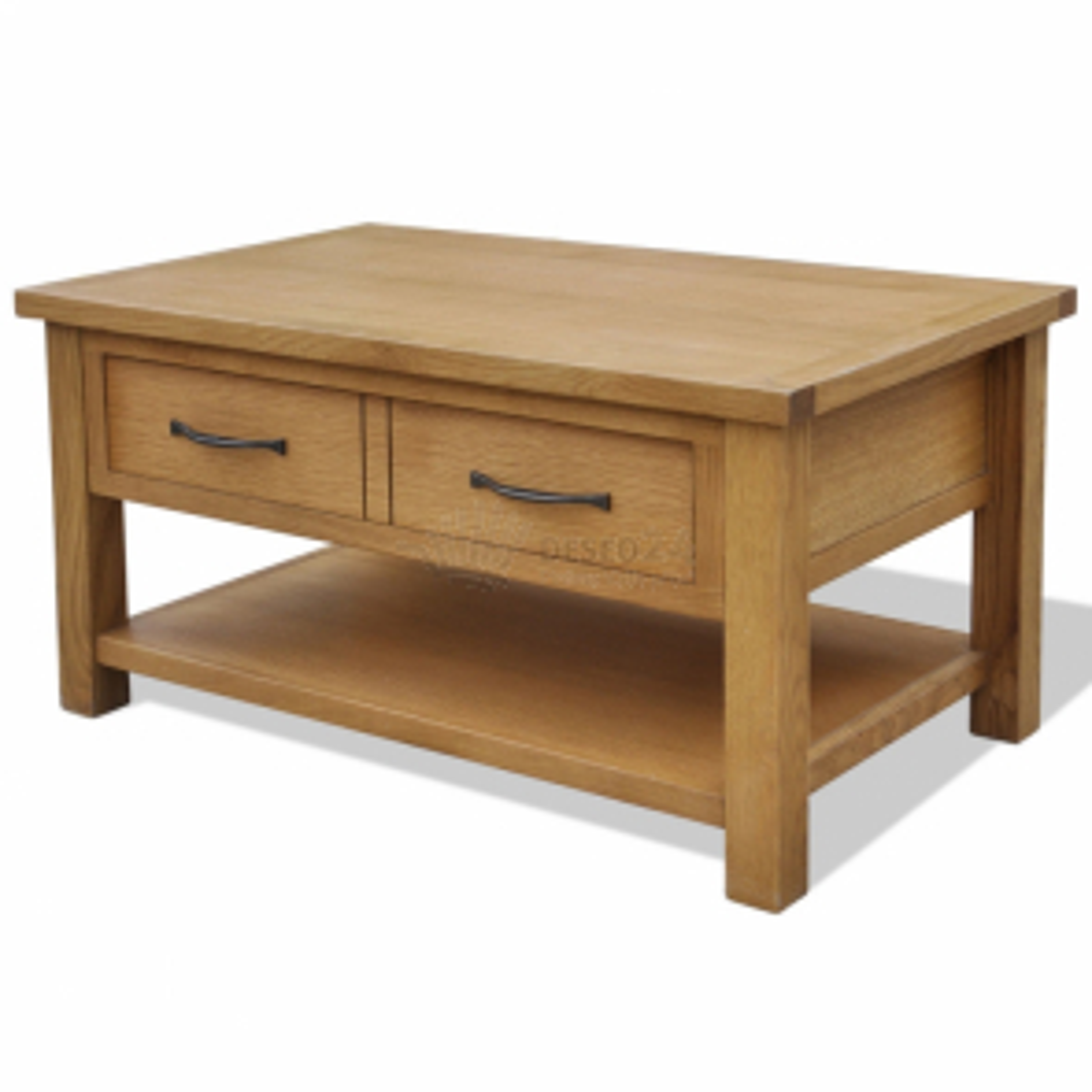 Konferenční stolek 88 x 53 x 45 cm masivní dubové dřevo