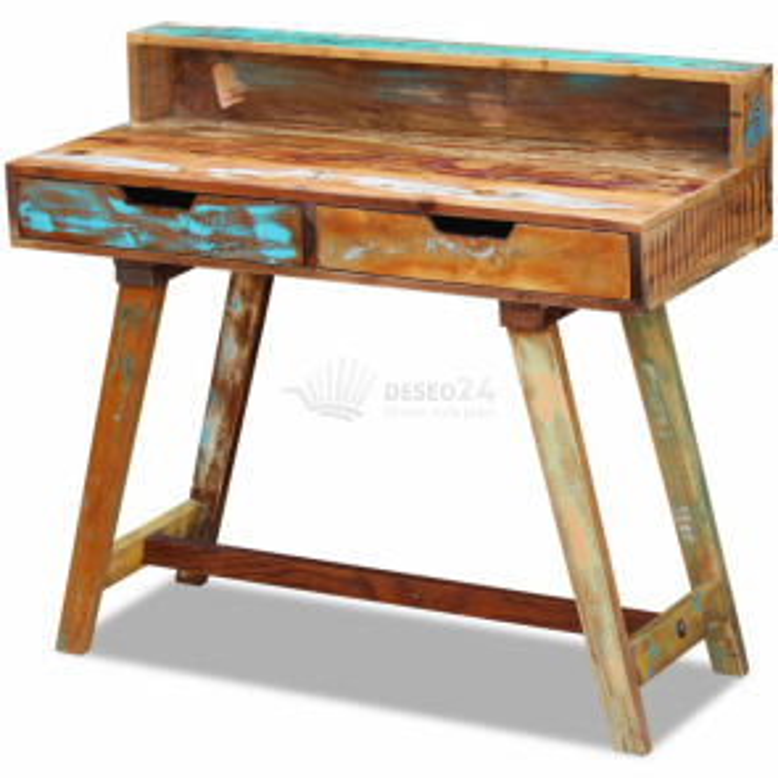 Stôl z regenerovaného dreva