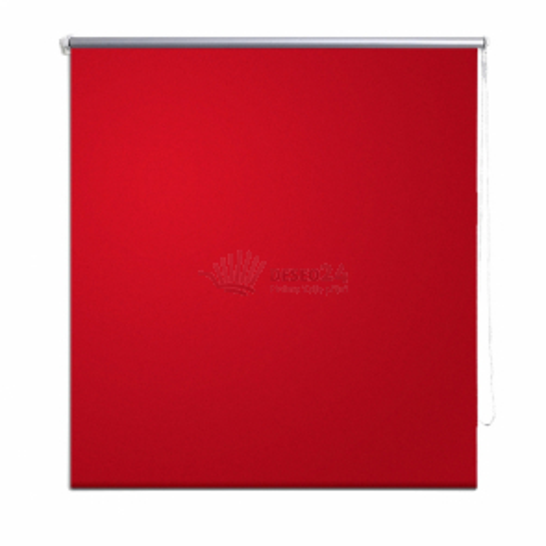 Univerzální roleta, červená, 100 x 230 cm
