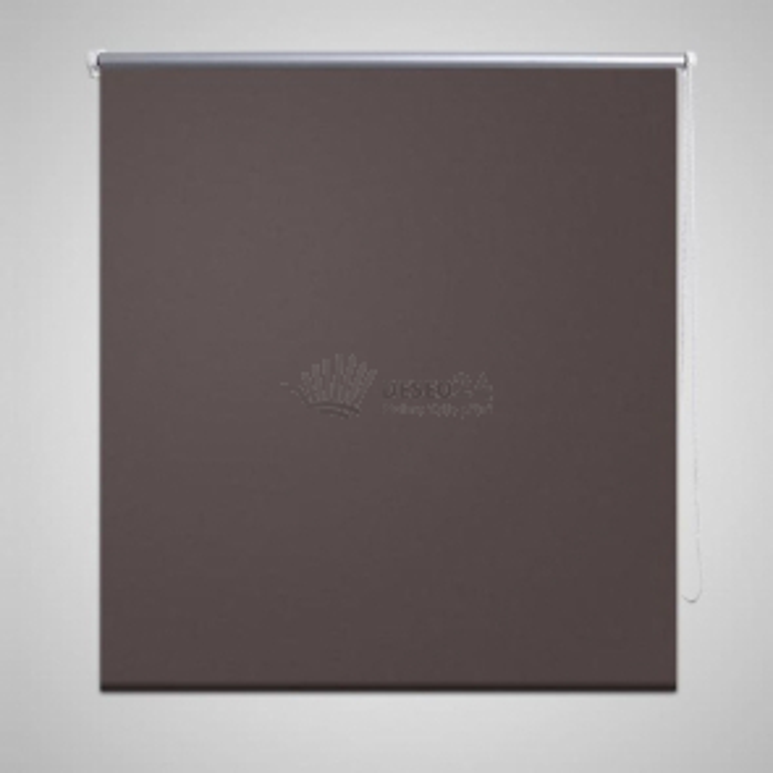 Univerzální roleta, hnědá, 60 x 120 cm