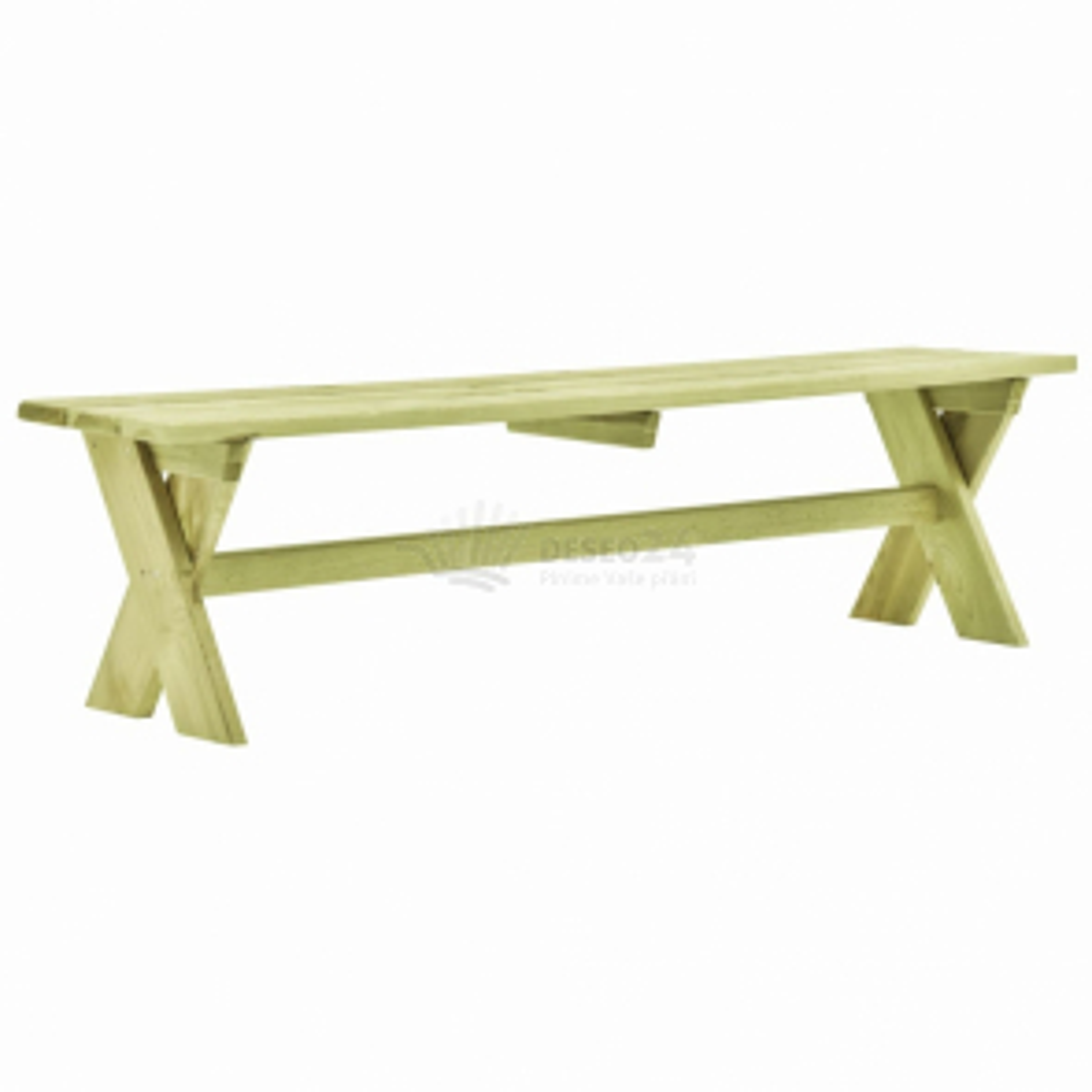vidaXL Zahradní lavice 170 cm impregnované borové dřevo [49031]