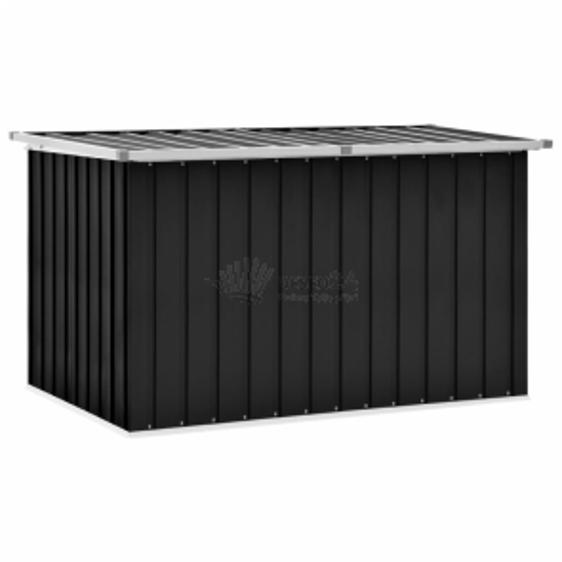 vidaXL Zahradní úložný box antracitový 149 x 99 x 93 cm [46267]